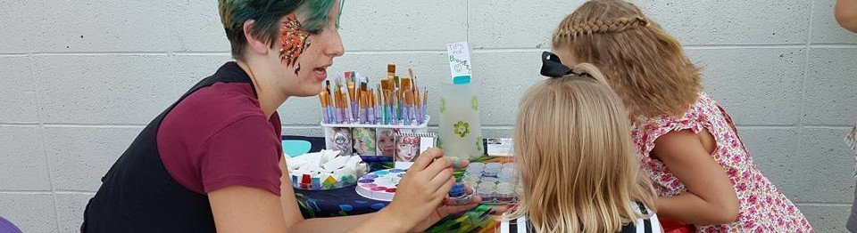 Kelsey, The Face Painting Lady